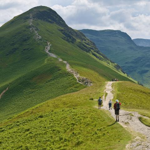 Path-up-a-mountain